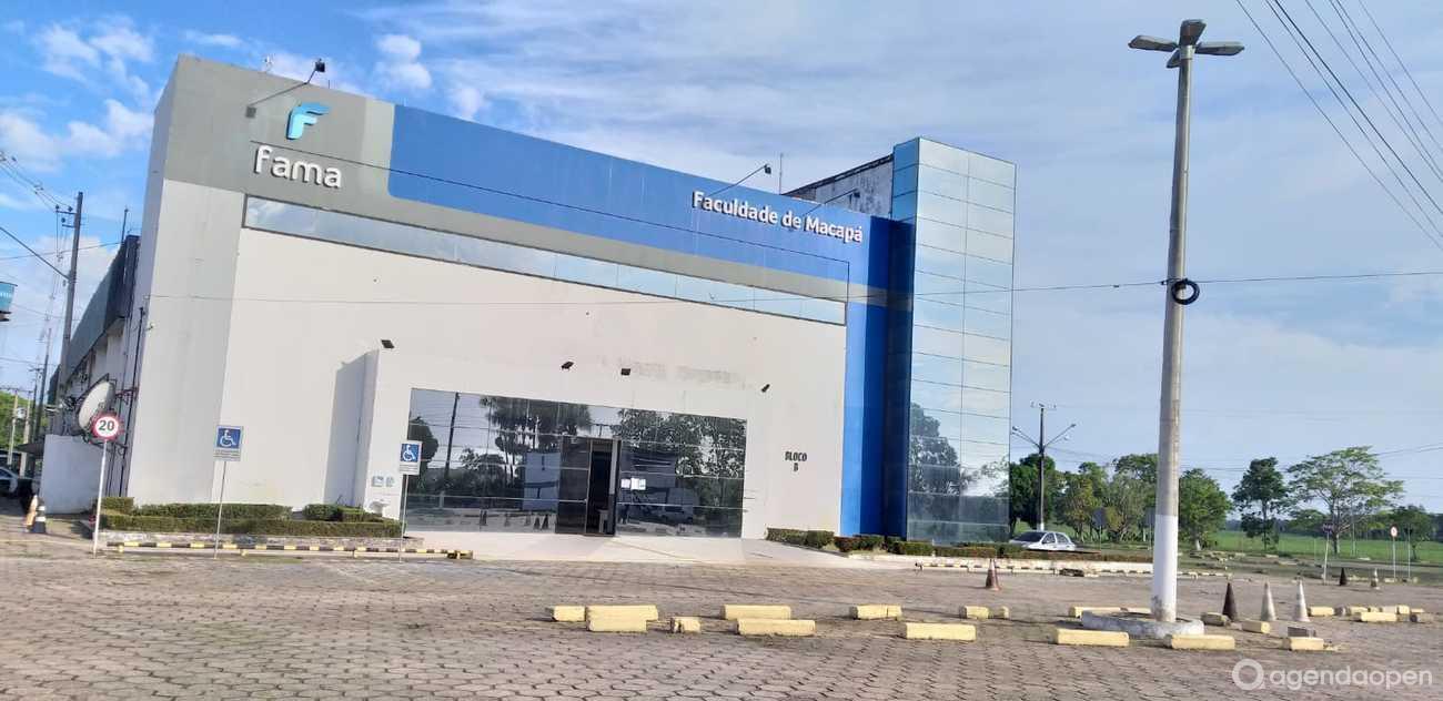 Fama - Faculdade de Macapá localizado em Alvorada, Macapá tem 8 salas e espaços para Reunião e Evento. Alugue sala para reunião, palestra, workshop, apresentação, e muito mais!